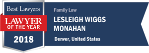 Best Lawyer 2018 Lesleigh Monahan