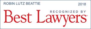 Best Lawyer Robin Beattie 2018